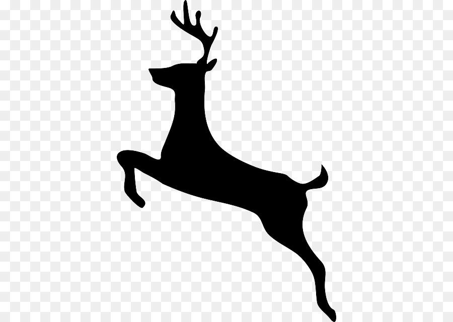 900x640 Reindeer Clip Art Vector Graphics White Tailed Deer