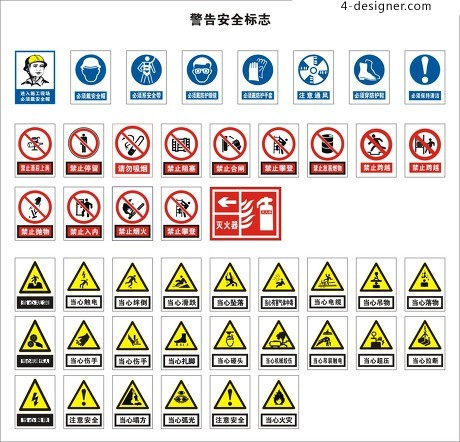 Safety Sign Vector