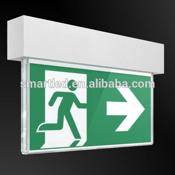 350x350 Exit Sign Factory High Quality Ce Rohs Saa Recessed Emergency Exit