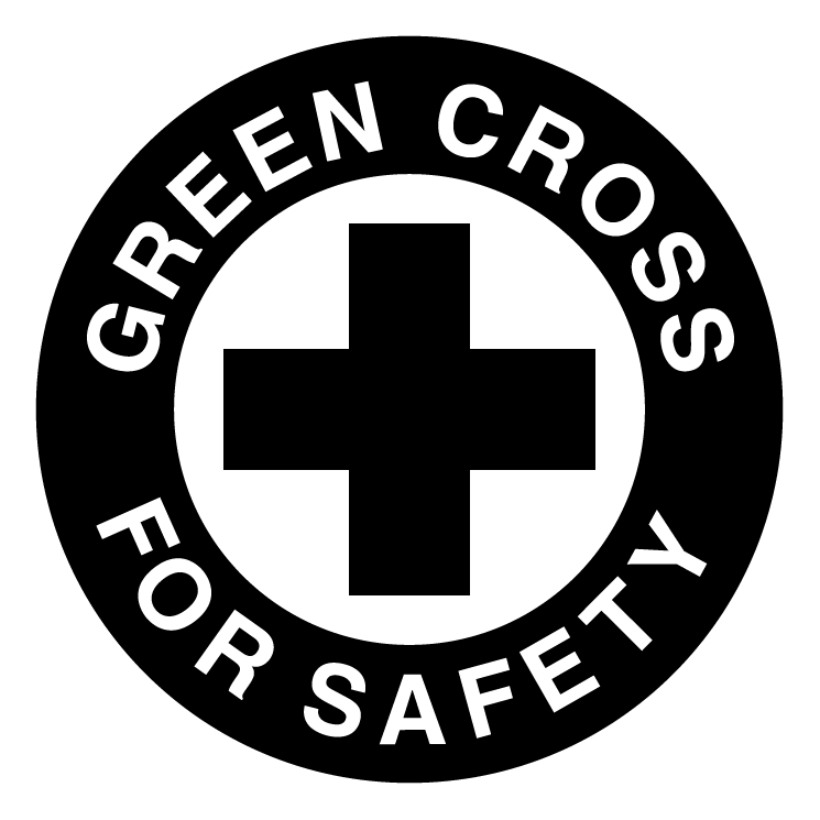 745x745 Green Cross For Safety Free Vector 4vector