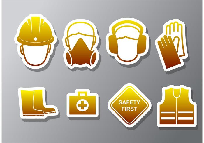 700x490 Health And Safety Vector Icons