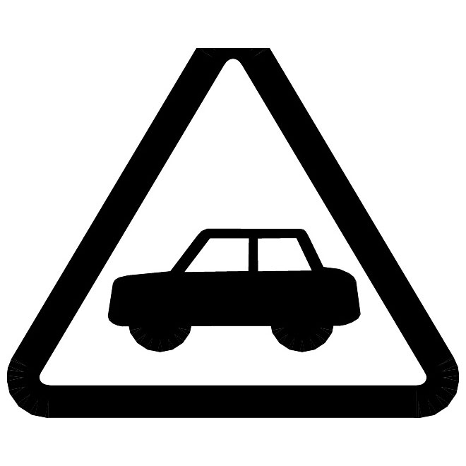 660x660 Road Safety First Vector Symbol