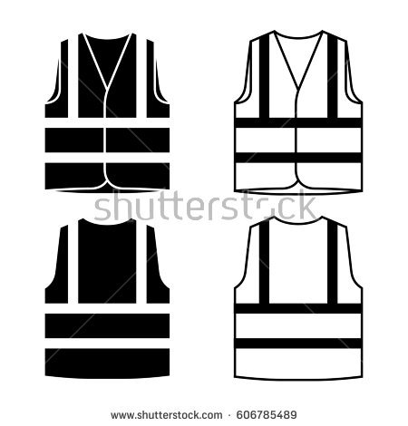 Safety Vest Vector