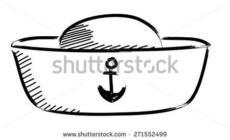 Sailor Hat Vector