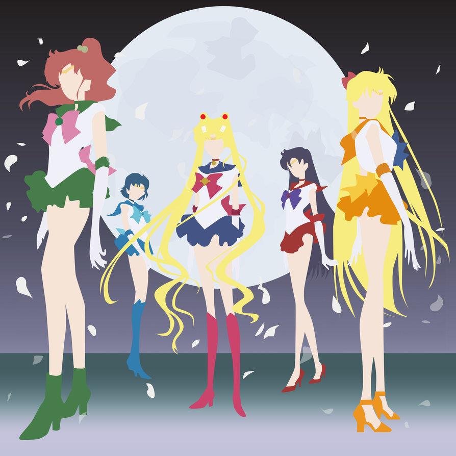 894x894 Sailor Moon Crystal Album Cover Vector By Gearsofwars99