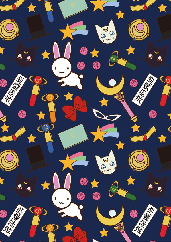 600x848 Anime Japan Design Wallpaper Sailor Moon Vector Nm3 Heyjennyzheng