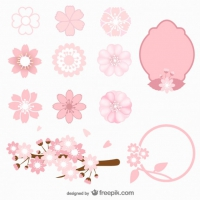 200x200 Cherry Blossom Vector Free Download Free Vector Graphic Art Free