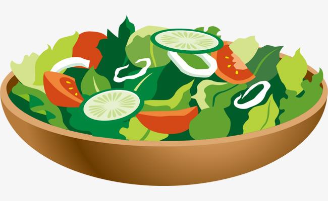 650x400 Vegetable Salad Vector Floating Material, Vegetable Vector, Vector