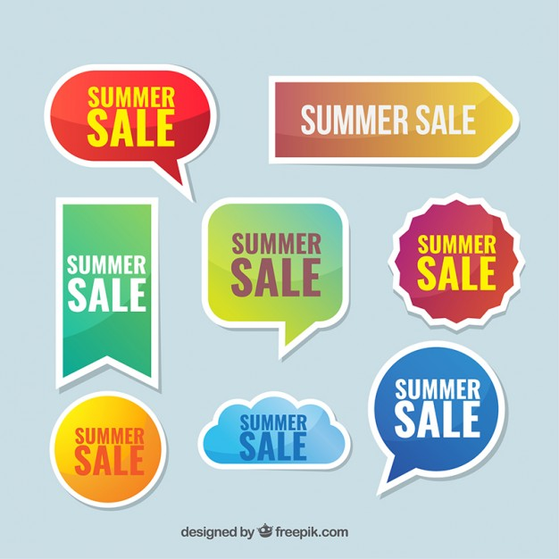 626x626 Collection Of Summer Sale Sticker Vector Free Download
