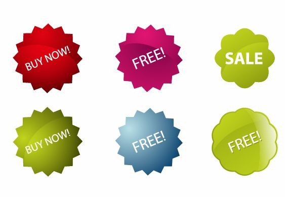 563x389 Colorful Vector Sale Stickers Free Vector Graphics All Free