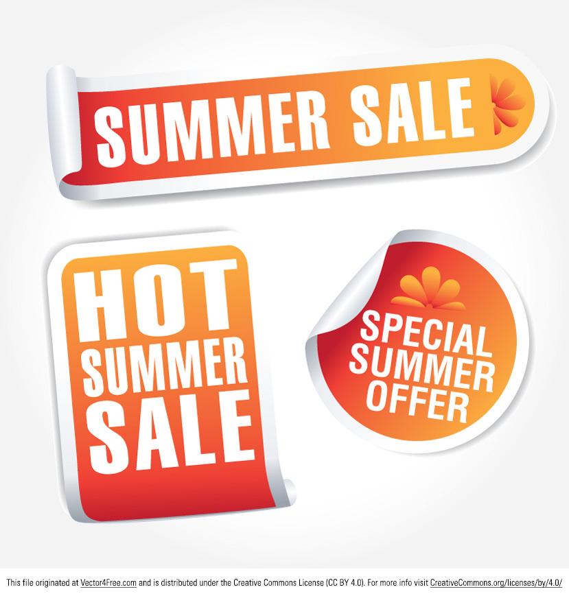 829x869 Free Summer Sale Tag Vectors