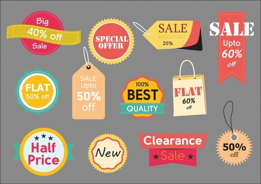521x368 Illustrator Sale Tag Free Vector Download (223,549 Free Vector