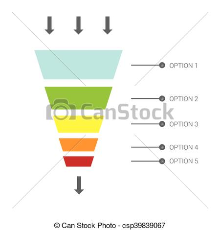 450x470 Vector Infographic Or Web Design Template . Vector Sales... Clip
