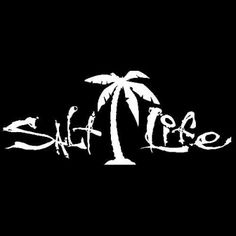 236x236 Salt Life Palmtree Love Decal Yeti Cricut