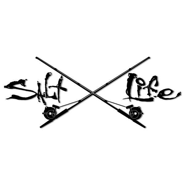 600x600 Fishing Rod Clipart Crossed