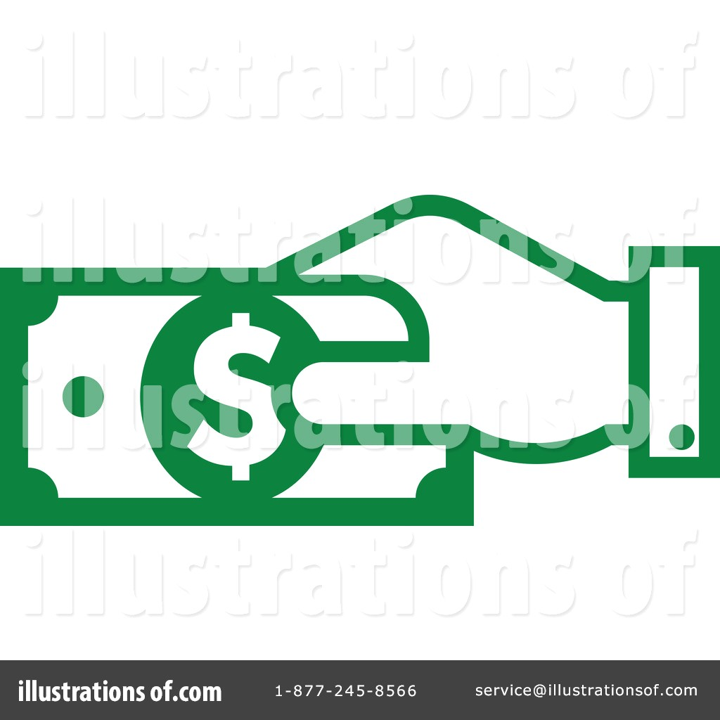 1024x1024 Royalty Free Rf Cash Clipart Illustration By Vector Tradition Sm