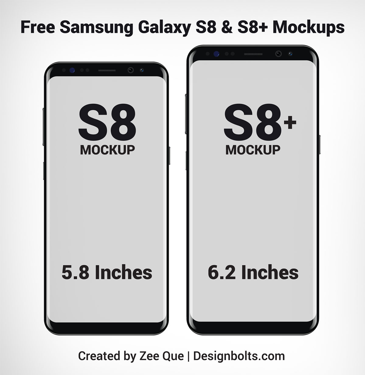 1200x1231 Free Samsung Galaxy S8 Amp S8 Mockup Vector Files In Ai Format