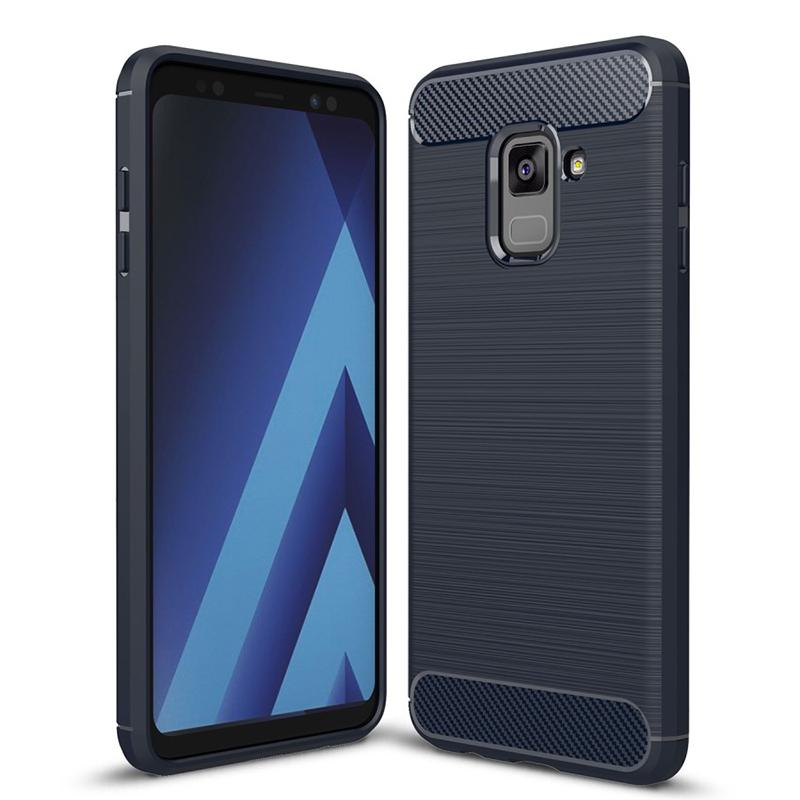 800x800 Vector Carbon Flexi Rear Case Cover For Samsung Galaxy A8