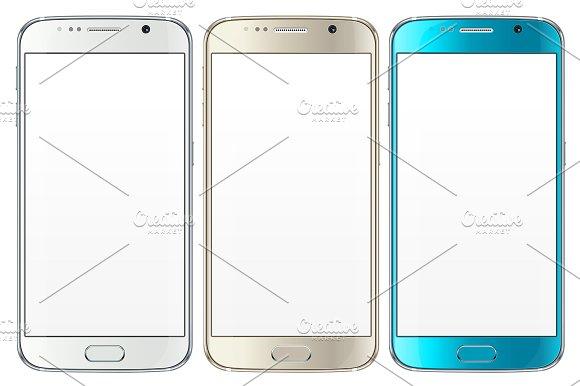 580x386 Samsung Galaxy S6 Vector Mockup Mockup Store