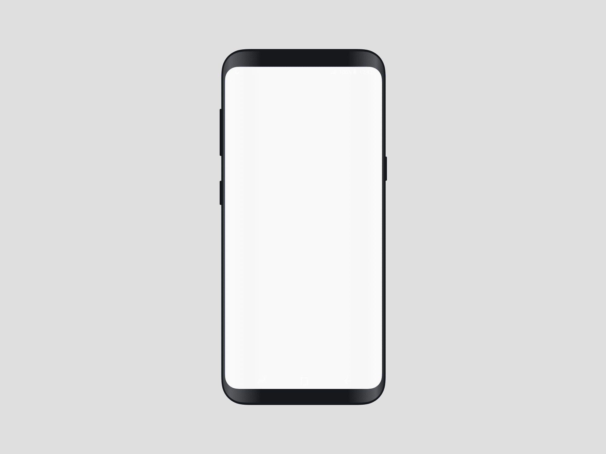 2000x1500 Samsung Galaxy S8 Vector Mockup The Mockup Club