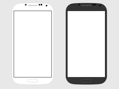 400x300 Free Flat Samsung Galaxy S4 Psd Free Psd,vector,icons