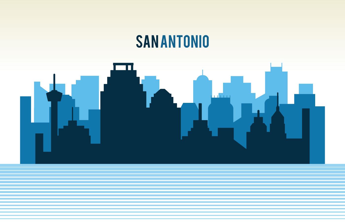 1400x900 San Antonio Free Vector Art