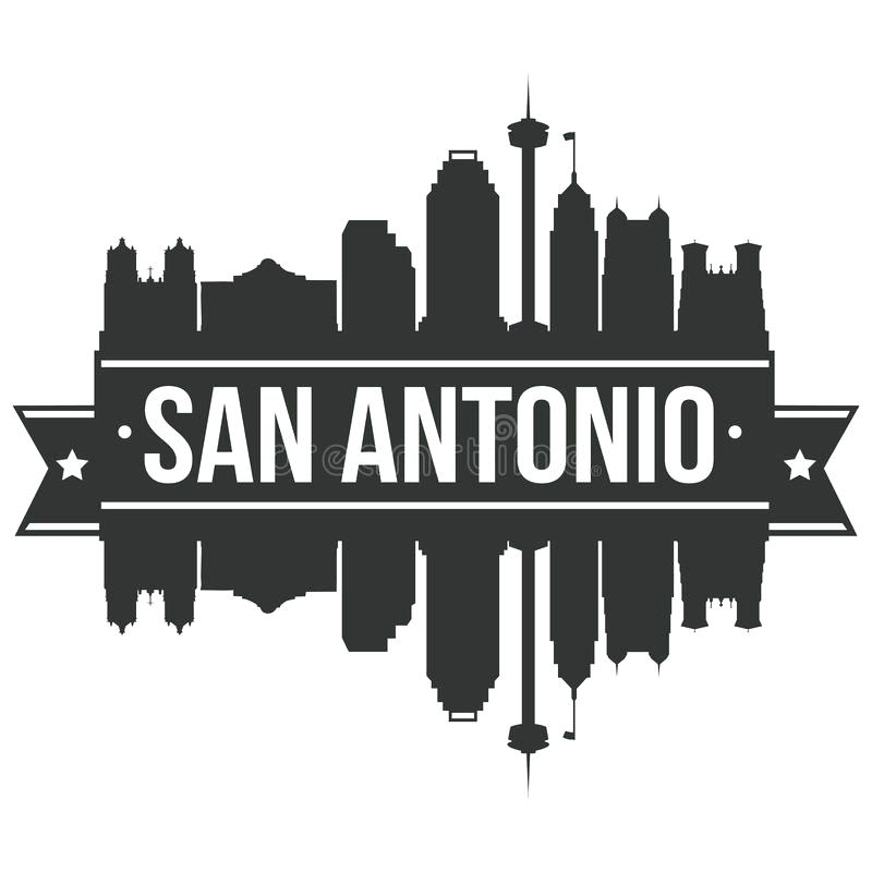 800x800 San Antonio Skyline Art Skyline Canvas Art By San Antonio Skyline