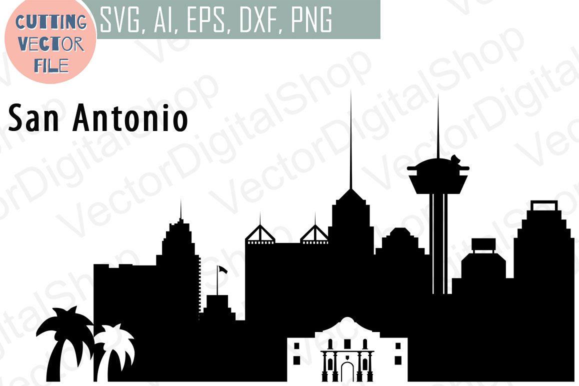 1158x772 San Antonio Vector, Texas Skyline Usa City, Svg, Jpg, Png, Dwg