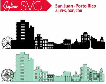 340x270 City Of San Antonio Svg San Antonio Vector Skyline San Etsy