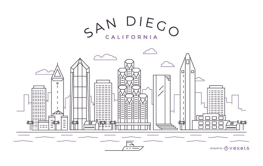 900x568 San Diego Stroke Skyline