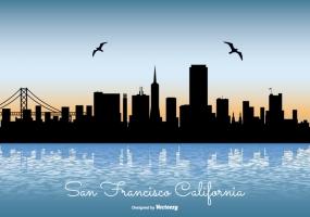 285x200 San Diego Skyline Free Vector Graphic Art Free Download (Found 941