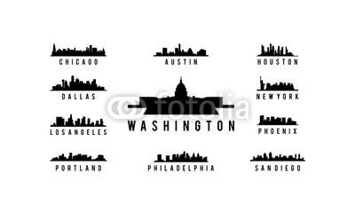 400x240 Usa City Skyline