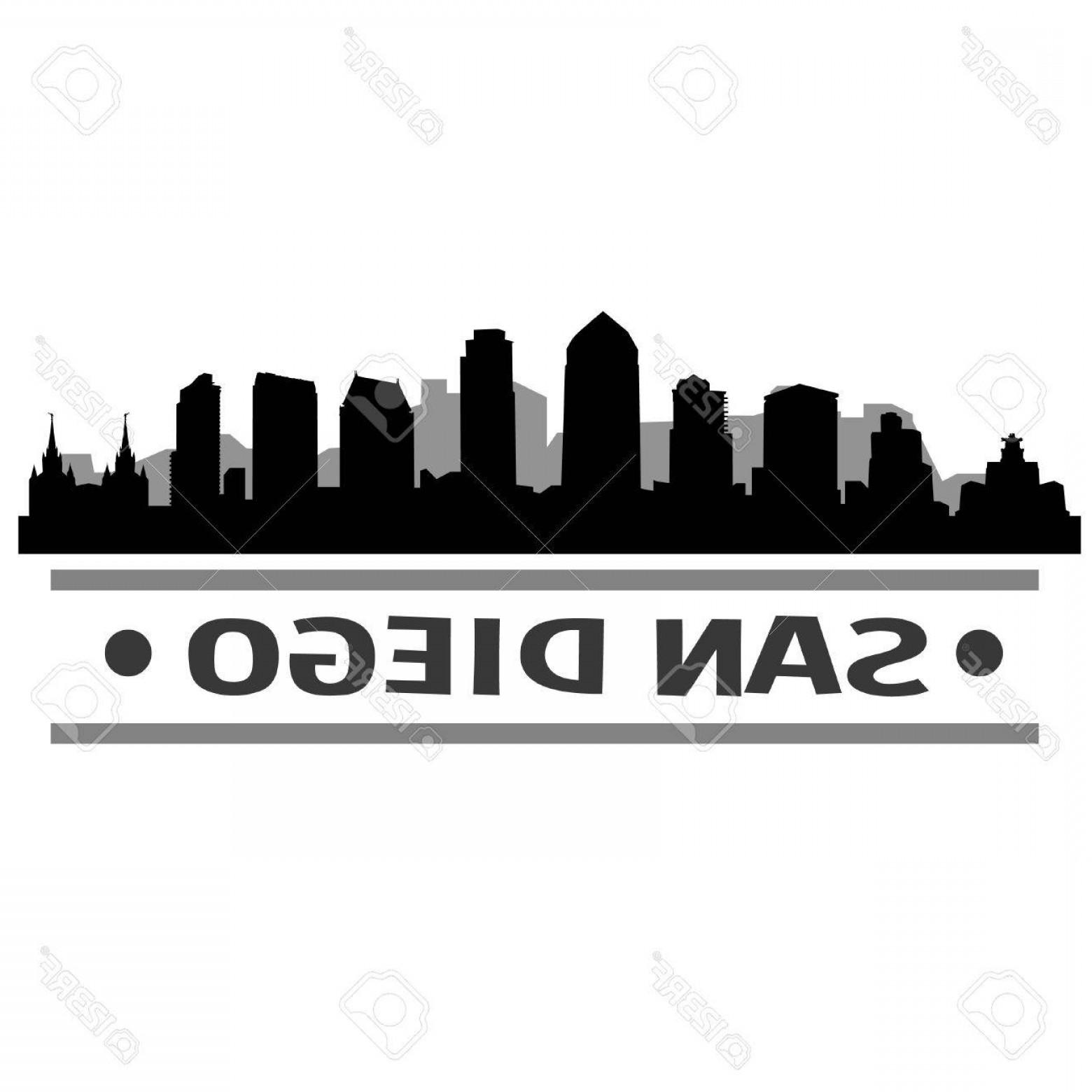 1560x1560 Photostock Vector San Diego Skyline Vector Art City Design Lazttweet