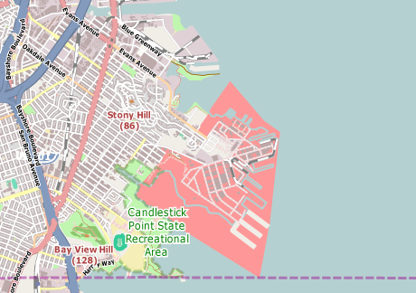460x324 Vector Map Of San Francisco Free Vector Maps