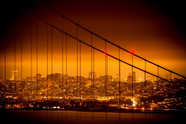 626x417 San Francisco Skyline Vectors, Photos And Psd Files Free Download