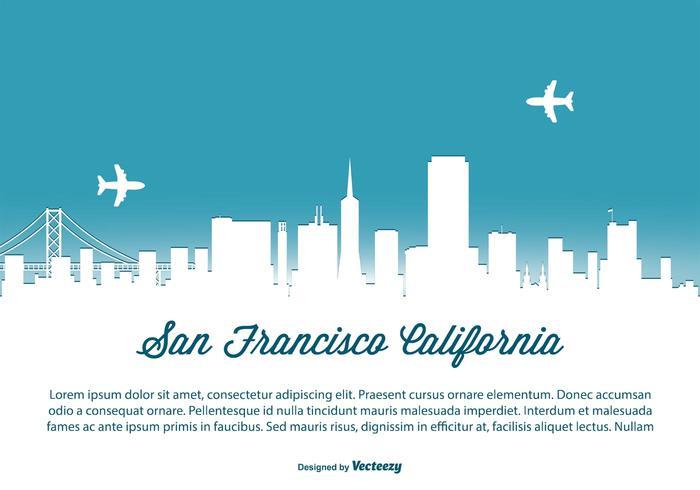 700x490 San Francisco Skyline Illustration