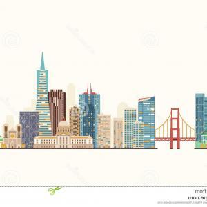 300x300 Photostock Vector San Francisco United States City Skyline Vector
