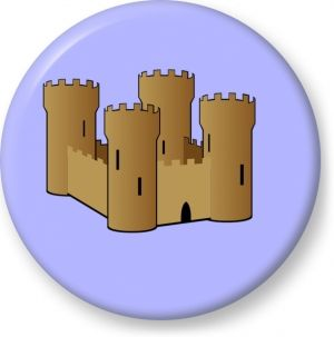Sandcastle Vector