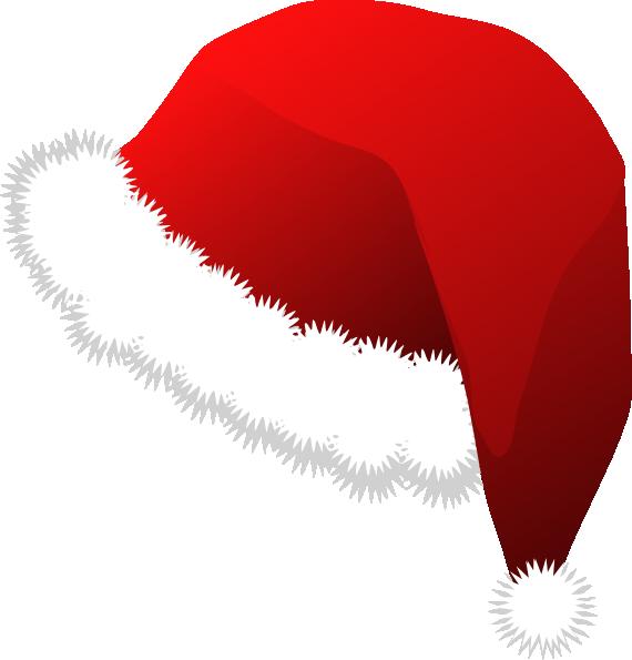 570x595 Santa Claus Hat Clip Art Free Vector 4vector