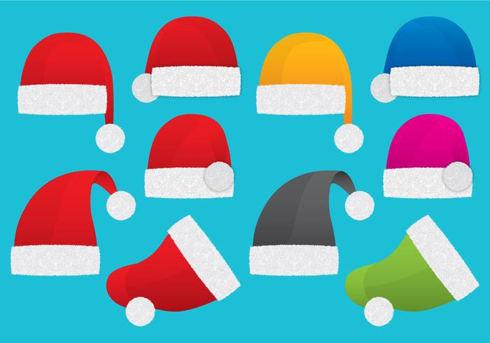 700x490 Santa Claus Hats