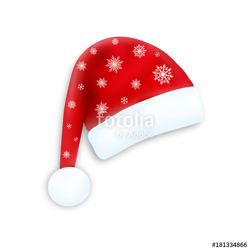 500x500 Santa Claus Hat ,vector Stock Image And Royalty Free Vector Files