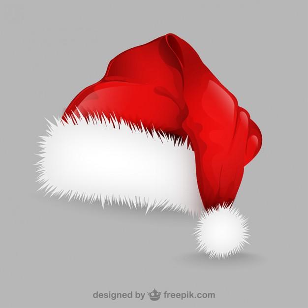626x626 Santa Claus Hat Illustration Vector Free Download