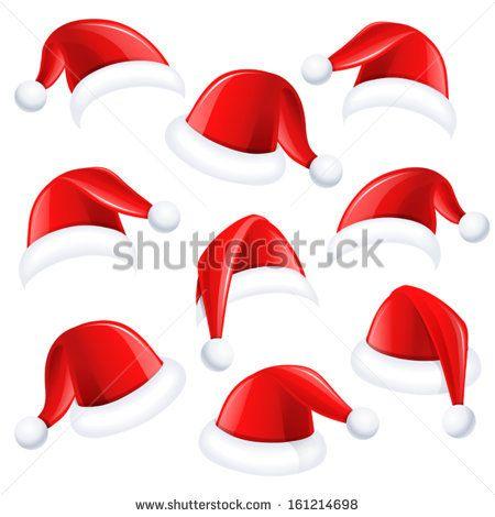 450x470 Christmas Hats Vector Free Vector In Encapsulated Postscript Eps