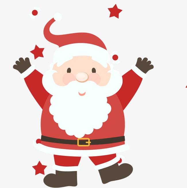 650x651 Happy Santa Claus Vector, Happy Santa, Santa Claus, Creative