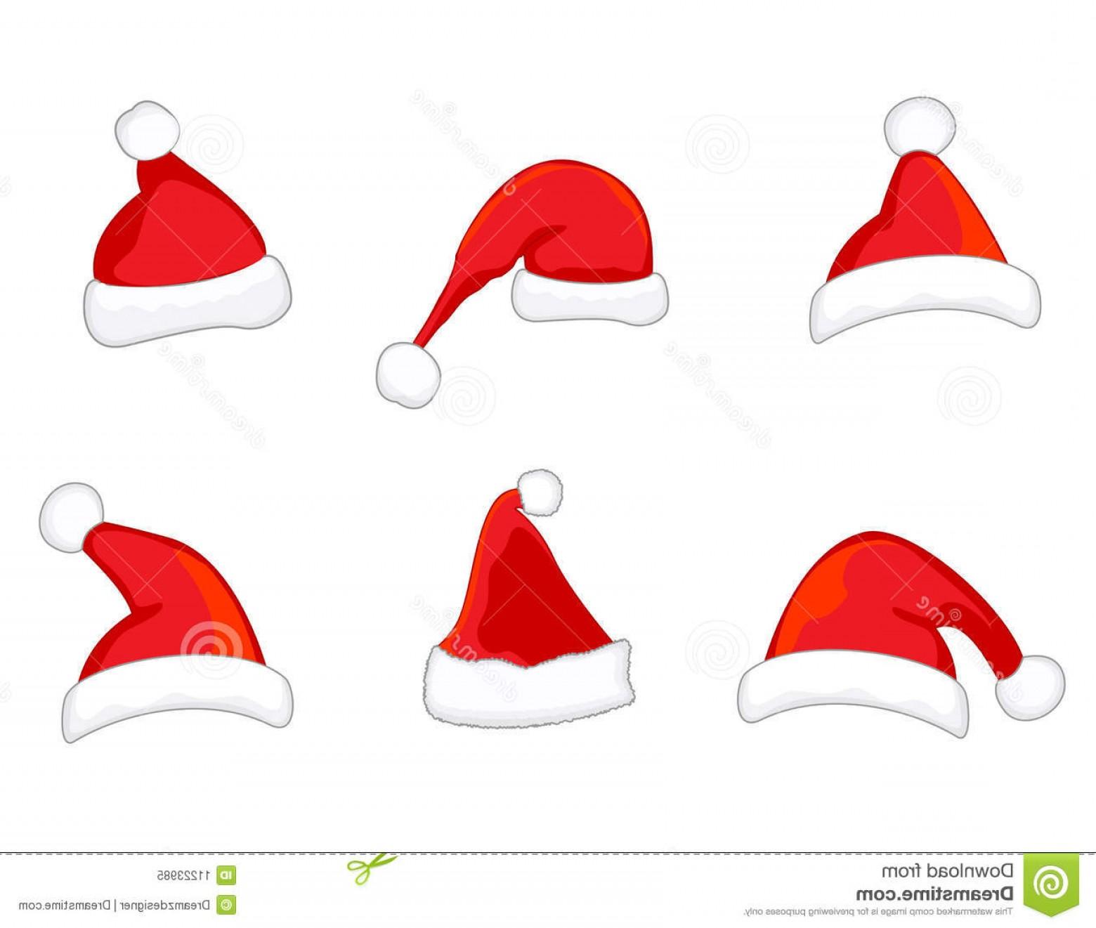 1560x1321 Royalty Free Stock Photo Santa Hats Vector Image Sohadacouri