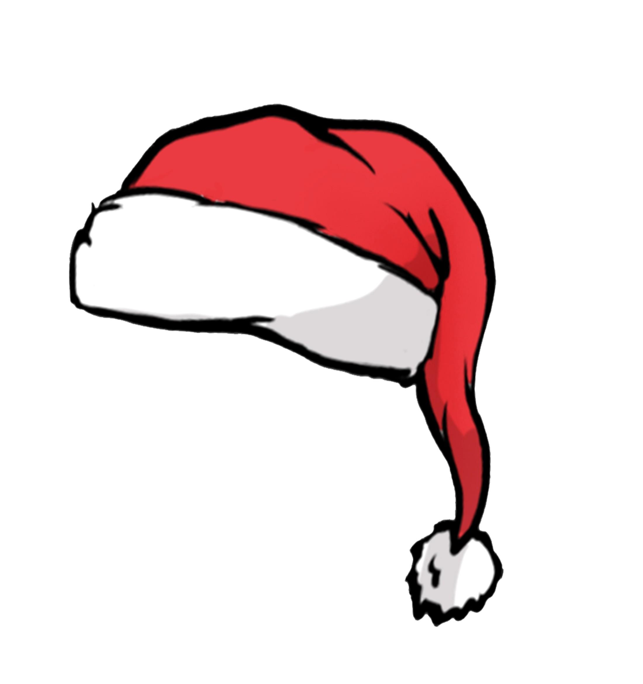 2200x2338 2 Cartoon Santa Hats Vector 2008372 15 Hat