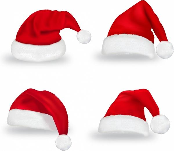 600x522 Christmas Hat Free Vector In Adobe Illustrator Ai ( .ai