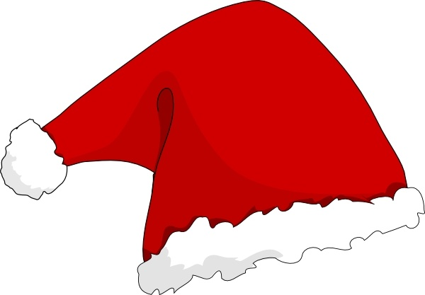 600x417 Santa Hat Clip Art Free Vector In Open Office Drawing Svg ( .svg