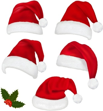 340x368 Vector Christmas Hat Free Vector Download (7,692 Free Vector) For