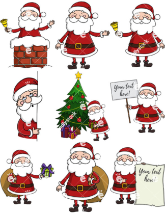 324x418 Cute Santa Claus Laughing Ho Ho Ho Vector Clipart